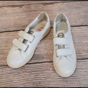 Men's White Velcro Kenzo Sneakers Size 41